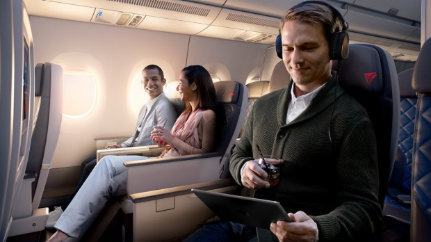 Despite a few teething problems, Delta's new Premium Select has raised the bar ...