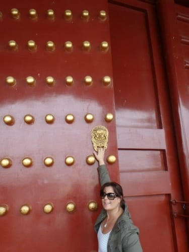 Kate in China