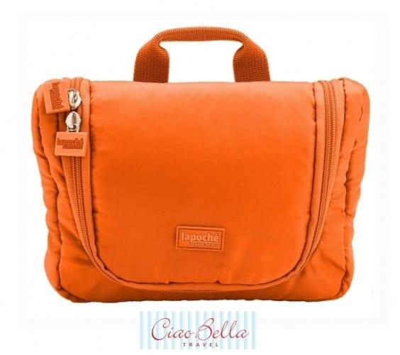 Orange Toiletries bag