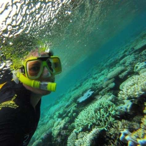 Snorkelling Outer Reef