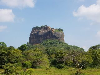 Lion Rock in Sri Lanka