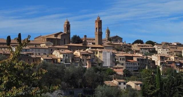 vista della città di siena