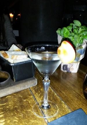 """Purple Martini at """"The Refinery"""""""