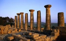 Italy, Tempio di Ercole - Parco Archeologico e Paesaggistico della Valle dei Templi di Agrigento (Hera Temple in Agrigento)