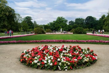 Parco Lazienki aiuole 2