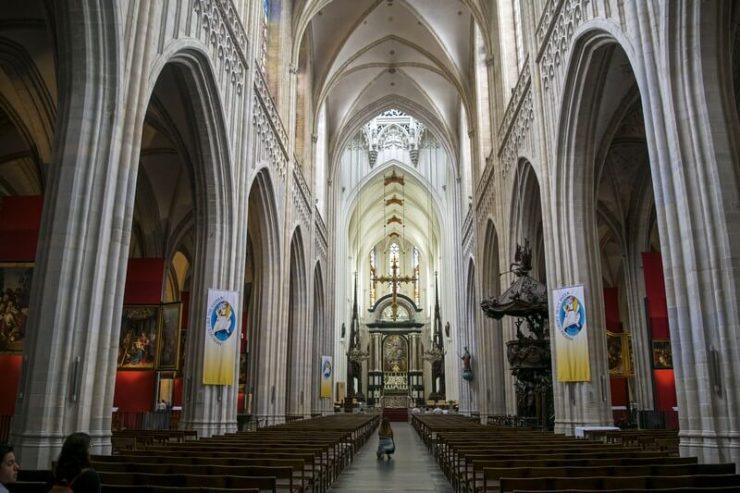 Cattedrale Nostra SIgnora Anversa interni