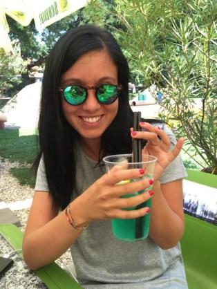 limonata alla menta Budapest