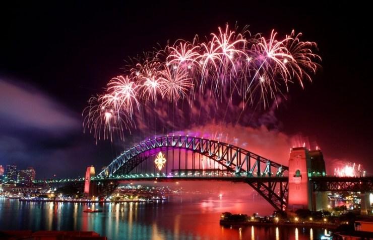 Capodanno 2017 in Europa e nel mondo - Sydney