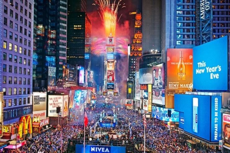 Capodanno 2017 in Europa e nel mondo - NY