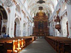 Chiesa Gesuita Lucerna - interno