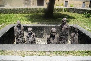 Monumento agli schiavi Zanzibar
