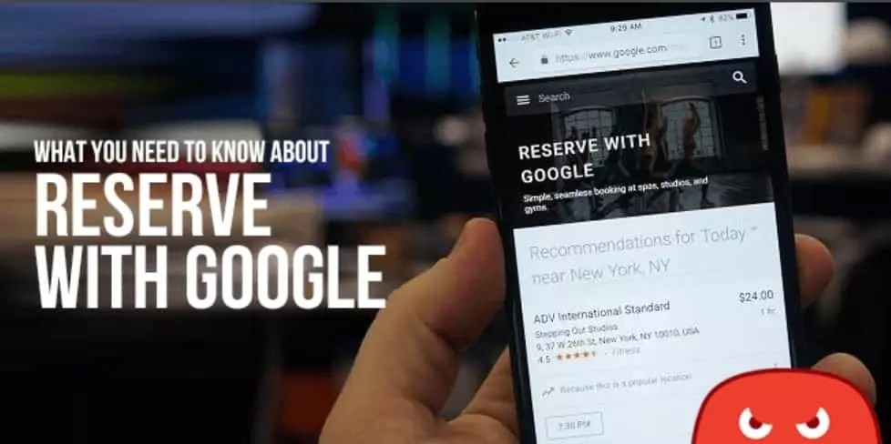 A service changing the way we do reservations: Reserve with Google.