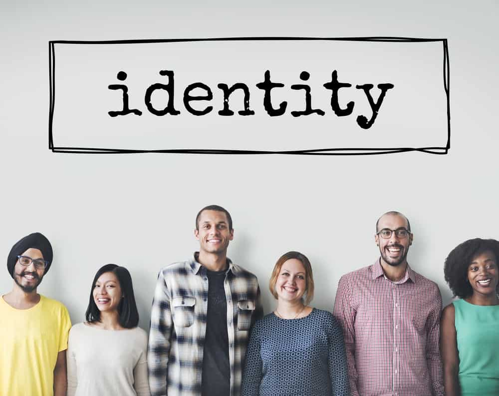 picture of people - and referring to brand identity