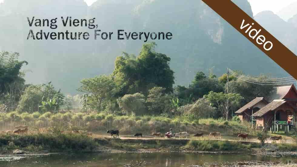 Vang Vieng, Adventure For Everyone