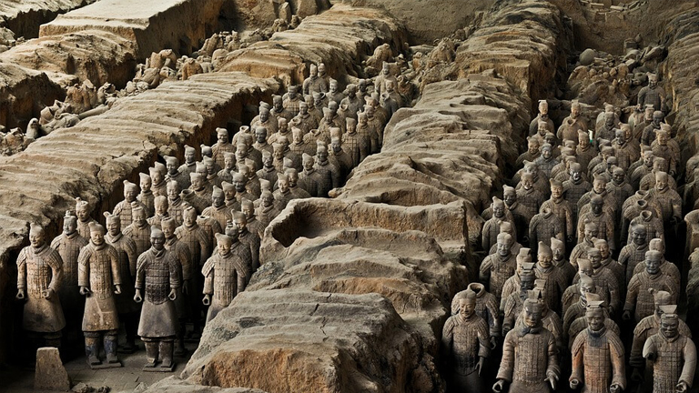 Terracotta Army in china The Terracotta Warriors in China