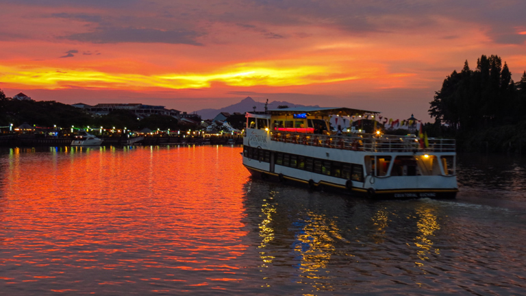 River sunset cruises, TravelLineUk