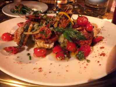 Mixed seafood grill at Comptoir Darna Marrakech