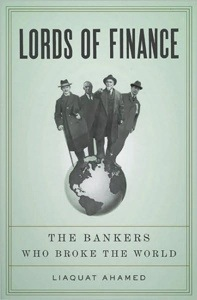 'Lords of Finance' a book dedicated to the world of finance.