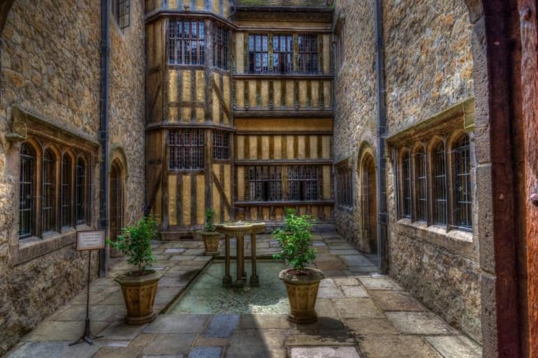 An Inside Courtyard, Leeds Castle, Kent, UK