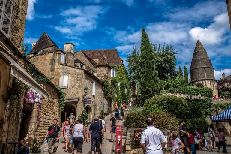 The streets of Sarlat France