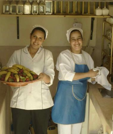 Staff at Riad Camilia, Marrakech, Morocco