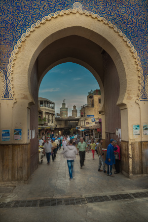 Gateway to the Medina, Fes, Morocco