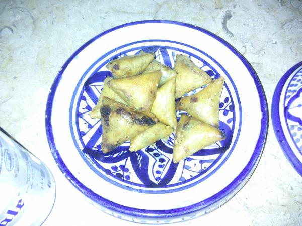 Snacks, Riad Camilia, Marrakech, Morocco