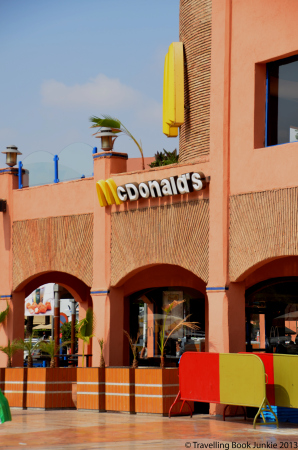 McDonalds, Marrackech Morocco