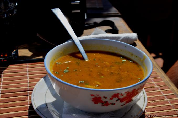 Traditional Berber soup Marrakech Morocco