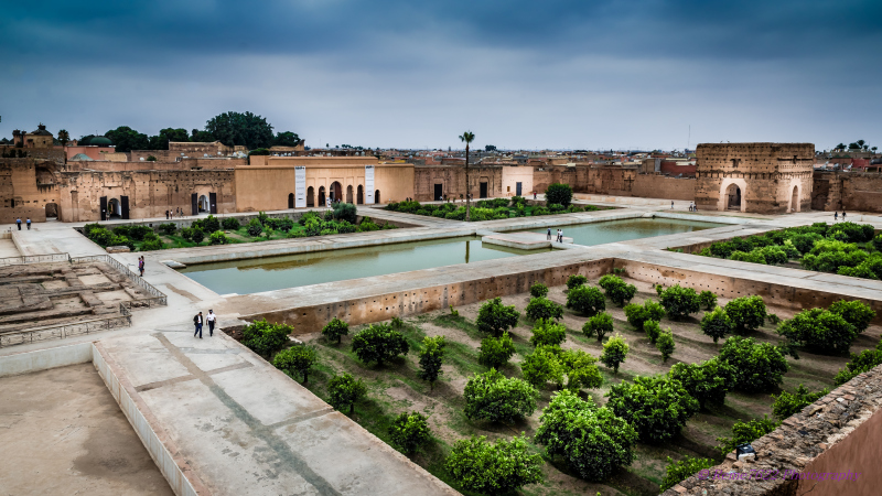 El Badi Palace, Marrakech< Morocco