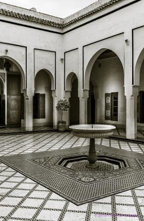 Bahia Palace Marrakech Morocco