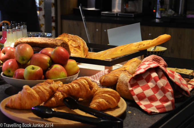 Qbic London Breakfast options, Aldgate, London UK