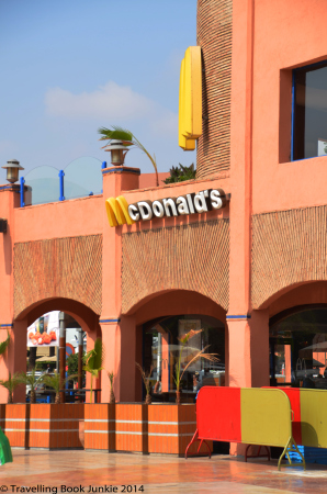 MacDonalds in Marrakech, Morocco