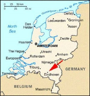 Eindhoven, Netherlands Map -