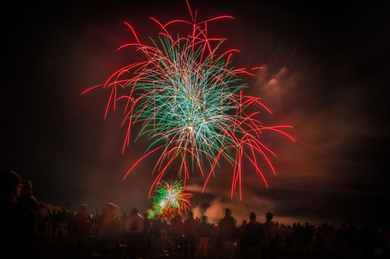 Fireworks for Bonfire Night
