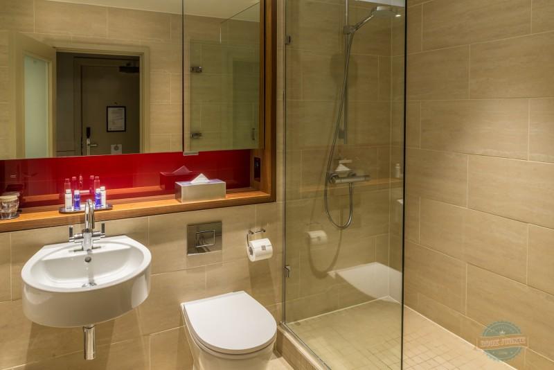 Bathroom at the APex London Wall Hotel