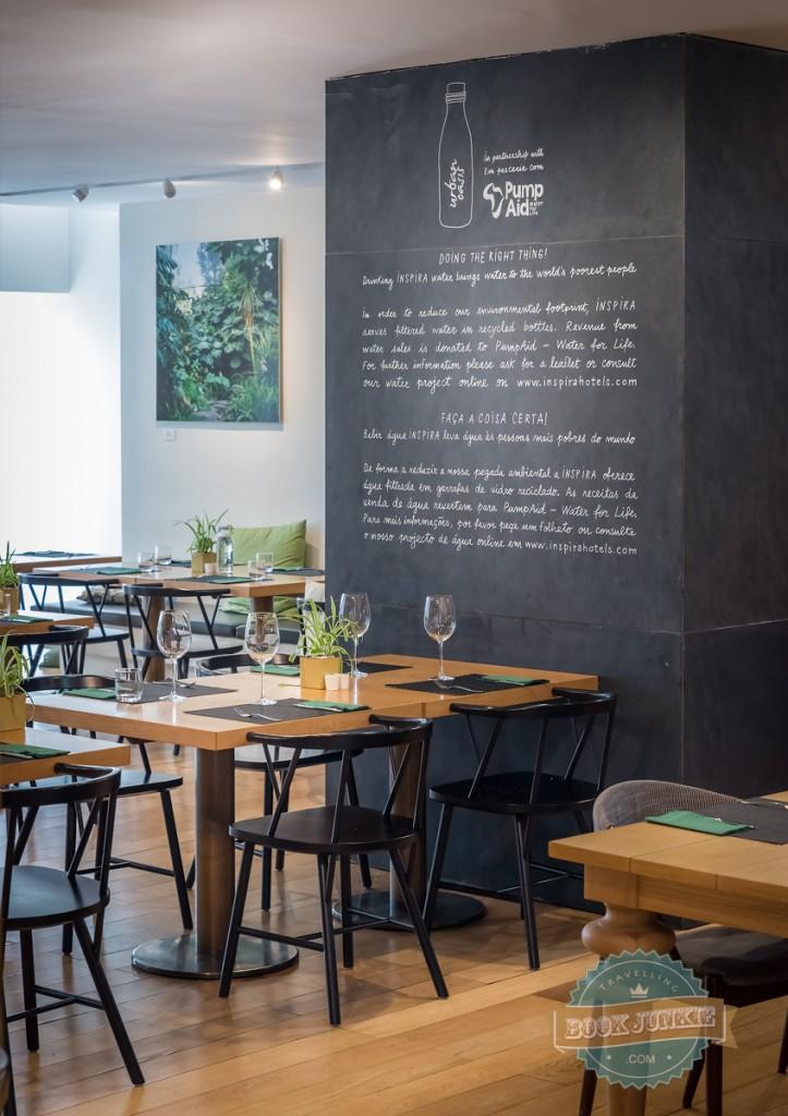 open restaurant at the inspira santa marta lisbon portugal