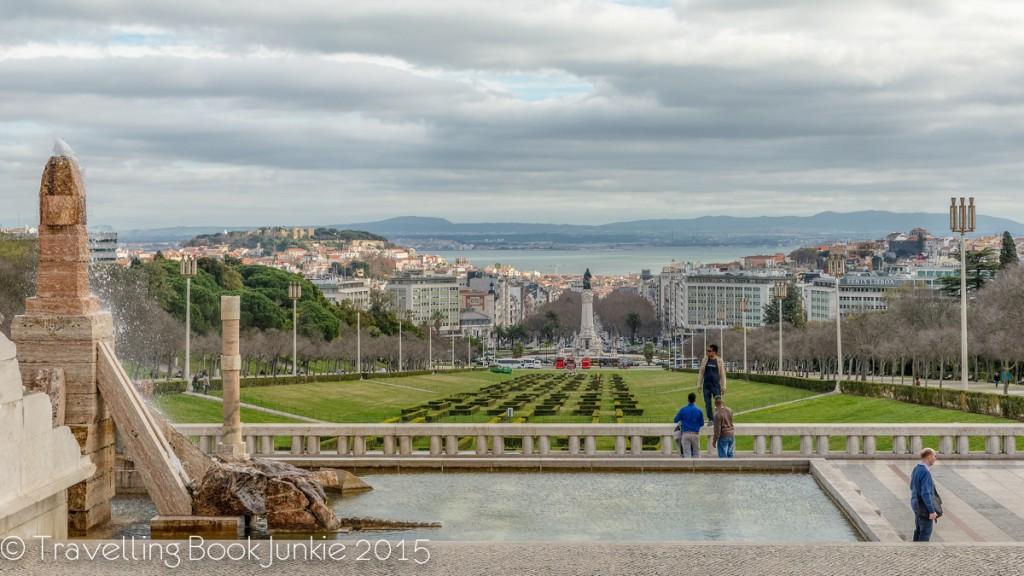 Lisbon views from Parque Eduardo VII
