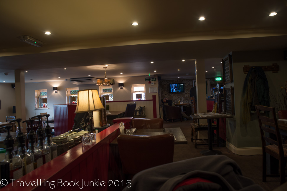inside the george and dragon at East Harling