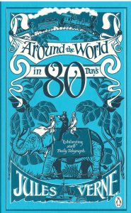 Jules Verne Novel; Around the World in 80 days; Book, author, novelist, novel,