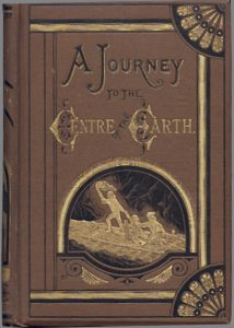 book, cover, journey to the centre of the earth, jules, verne, author, french, nantes, science fiction, sc-fi,