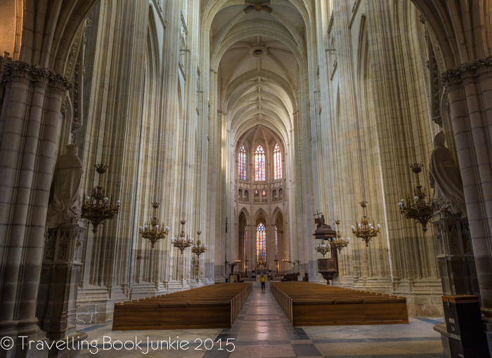 Inside the Cathedral, Nantes, France, Vaulted Ceilings