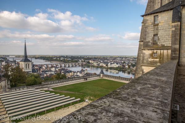Chateau de Samur views, Loire Valley, France