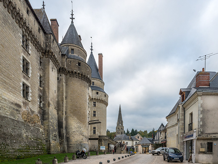Langeais Chateau, Loire Valley, France