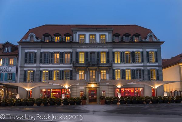 Hotel on Lake Leman, Lake Geneva, Lord Bryon, Lausanne, Switzerland