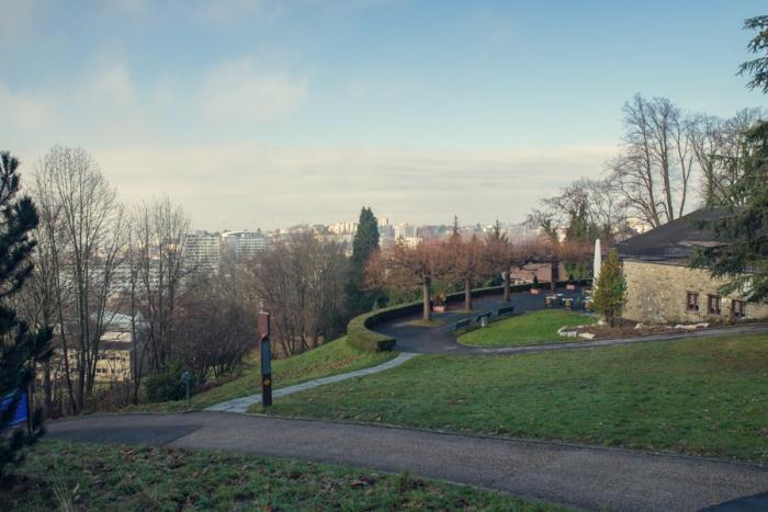 L'Hermitage Park, Lake Leman, Lake Geneva, Lausanne, Switzerland