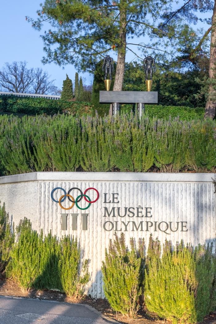 Olympic Museum, Lak Leman, Lake Geneva, Lausanne, Switzerland