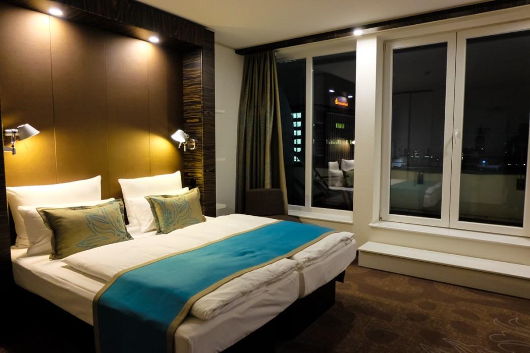 Bedroom, Motel One, Essen, Germany
