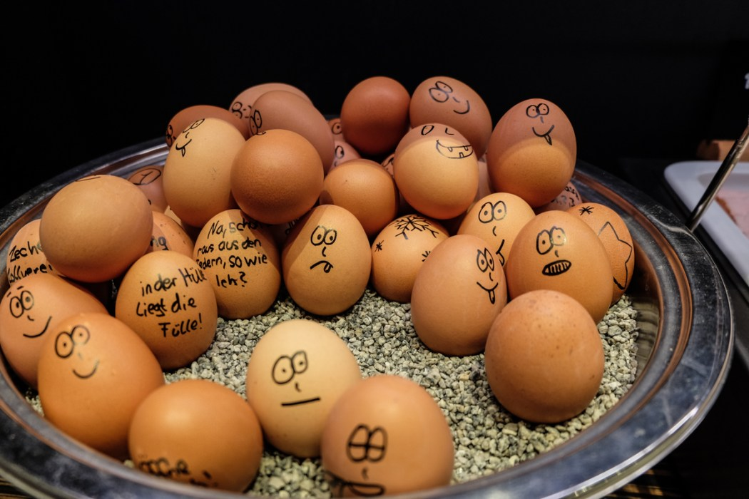 Eggs, Breakfast, Motel One, Essen, Germany