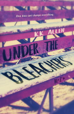 Under the Bleachers, K.K. Allen, February release, new book, publishing, Travelling Book Junkie